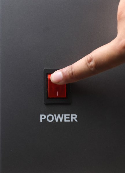 Desconecte energía ante una intervención