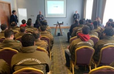 En la Araucanía Frontel coordina acciones con Carabineros y Fiscalía ante casos de robo de cable
