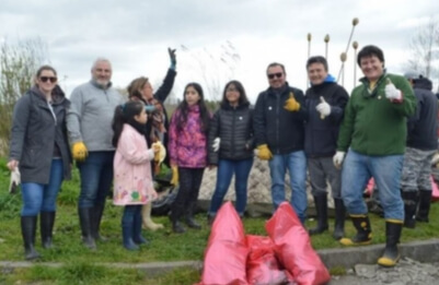 Apoyamos limpieza de humedales en Llanquihue