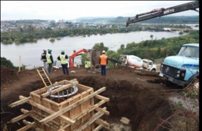 Frontel finaliza con éxito primera etapa de proyecto de nueva red eléctrica entre Laja, San Rosendo y Santa Juana