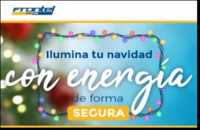 Frontel entrega recomendaciones para tener  unas fiestas de fin de año seguras