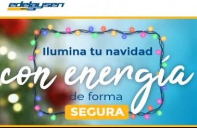 Edelaysen entrega recomendaciones para tener  unas fiestas de fin de año seguras
