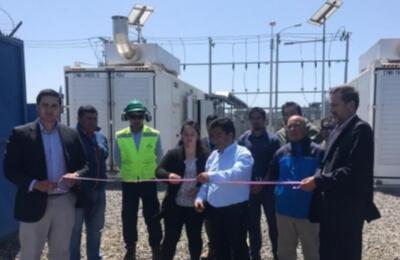 Frontel pone en marcha Generador de Respaldo de Puerto Saavedra