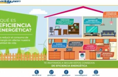 Edelaysen entrega consejos para disminuir el consumo de energía eléctrica en hogares