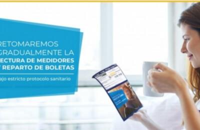 Luz Osorno anuncia el retorno de algunas actividades para garantizar la continuidad del servicio