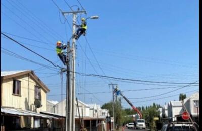 Santa Bárbara cuenta con nueva línea eléctrica que permite disminuir los tiempos de recuperación del servicio en caso de un corte de luz