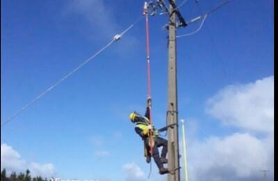 Importantes avances de Frontel en la red eléctrica de la comuna de Chol Chol