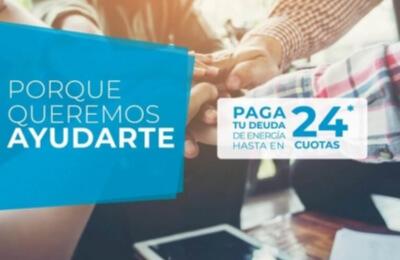 Edelaysen invita a inscribirse en la Ley de Servicios Básicos de hasta el 6 de noviembre de 2020