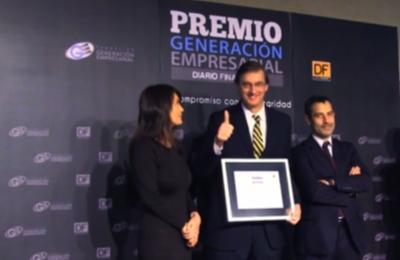 Premio Generación Empresarial, al Compromiso con la Integridad