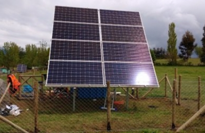 Grupo Saesa inaugura emblemático proyecto de electrificación solar en Isla Huapi