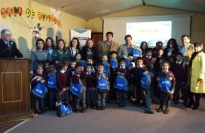 Campaña de sustentabilidad Escuela con Energía acompaña inicio de clases de niños rurales