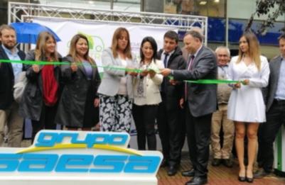Saesa inauguró punto de carga gratuito para autos eléctricos en Osorno