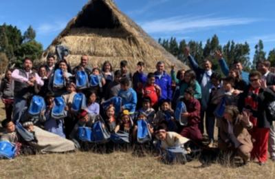 """Promoviendo la eficiencia energética Frontel inicia concurso """"A la escuela con energía"""" en Los Alamos"""