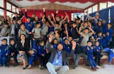 """Frontel llega a la provincia de Biobío con su programa """"Escuela con Energía"""" promoviendo la eficiencia energética"""