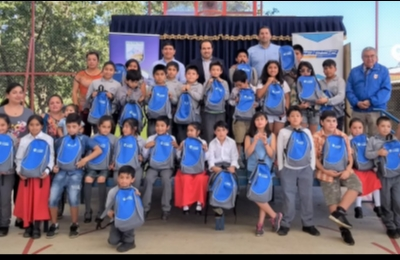 """Saesa promueve la eficiencia energética con programa """"Escuela con energía"""" en Lago Ranco"""