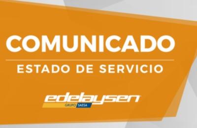 Edelaysen en alerta ante condiciones climáticas adversas anunciadas para la zona