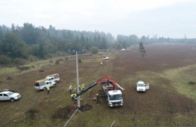 Nuevo robo de cables provoca corte de energía en las comunas de Yumbel, San Rosendo y sector rural de Hualqui