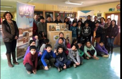 """Saesa se suma a campaña """"Ponte las pilas"""" que impulsan escuelas de isla Lemuy"""